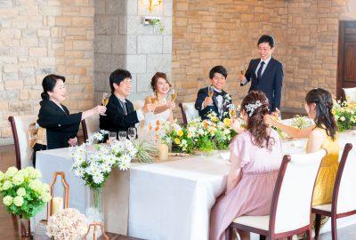 【HP限定 少人数婚プラン】10名32万円~ 会食プラン
